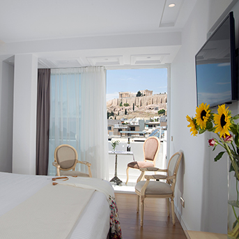 Acropolis View Suite with Balcony Gallery